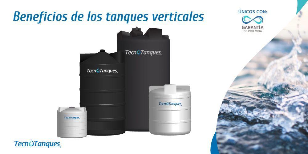 Beneficios de los tanques verticales