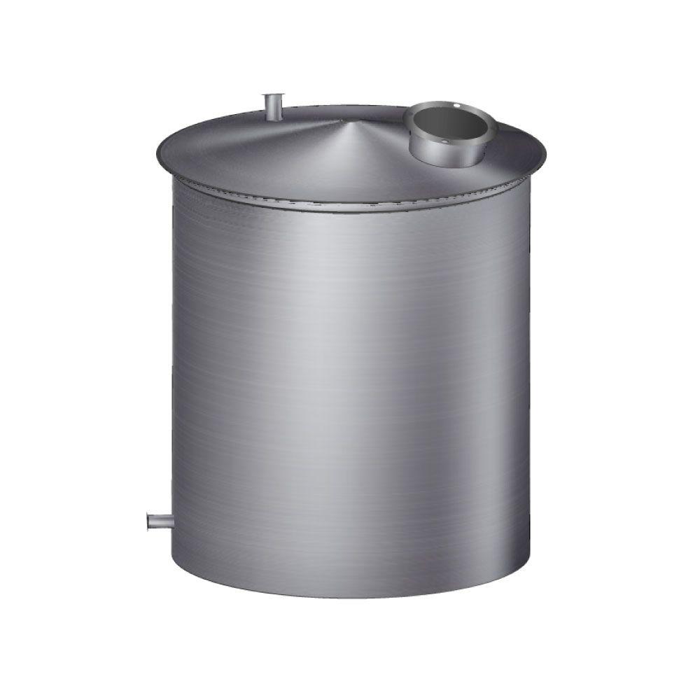 Tanque acero inoxidable de 25000 litros chaparro
